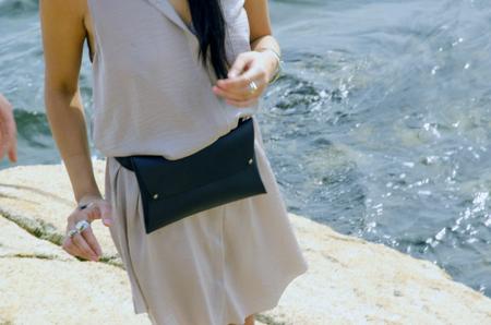 AW By Andrea Wong SENSIBLE EXPLORER'S BELT BAG   BLACK