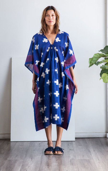Two Blue Plus caftan