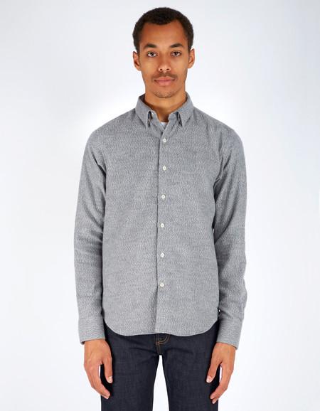 Men's 18 Waits Dylan Shirt Soft Grey Flannel