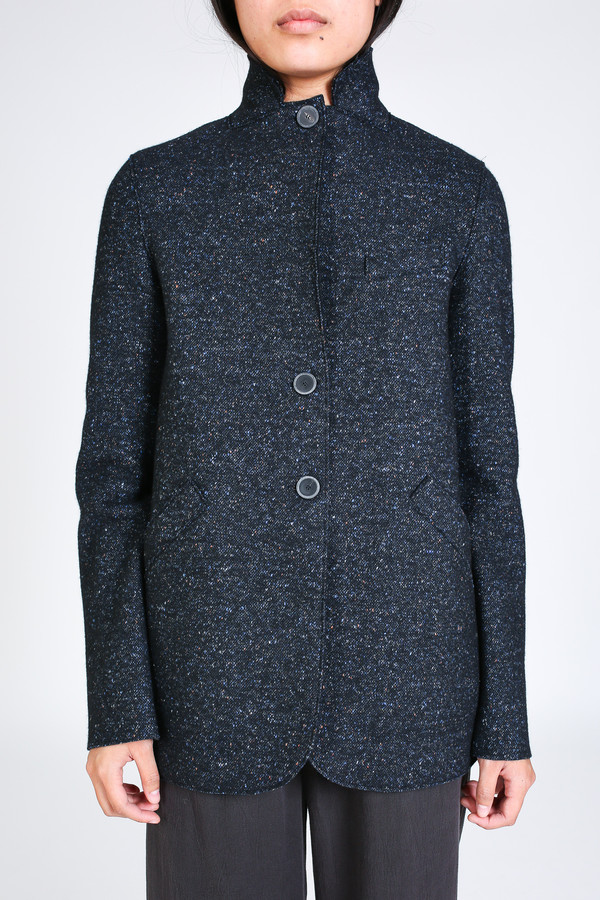 Harris Wharf London Outdoor jacket in dark blue