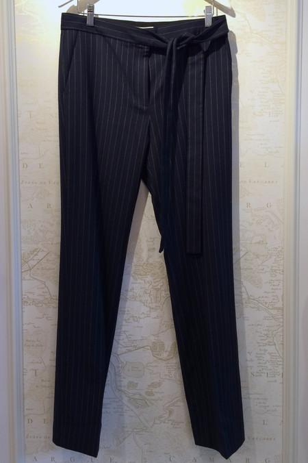 Tibi 'Delmont' Pinstripe Tie Pant