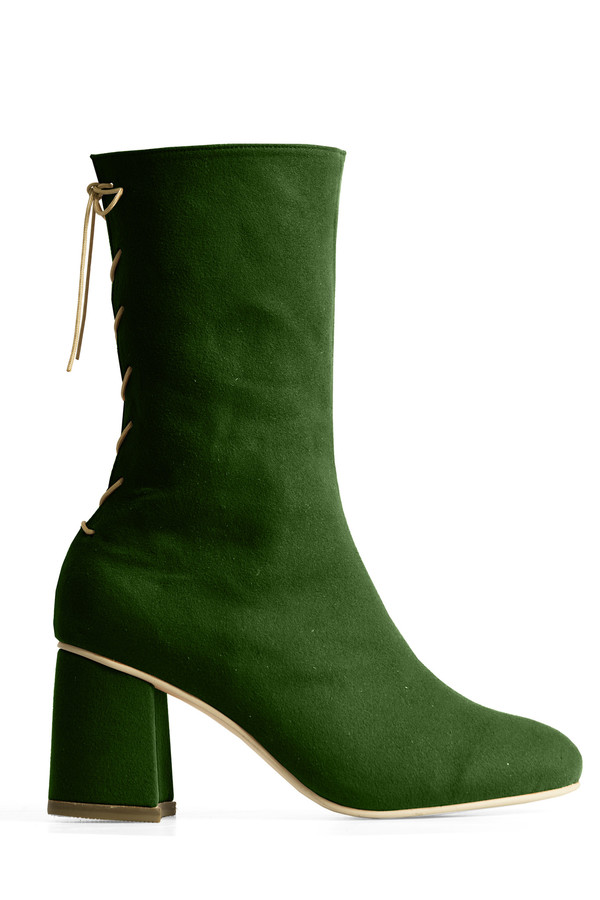 Rafa Convertible Midi Boot – Chlor