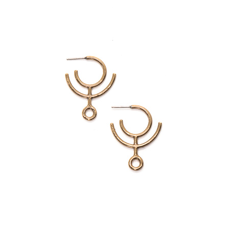 Laurel Hill Jewelry Hawthorn Arc Hoops