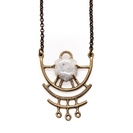 Laurel Hill Jewelry Dreamweaver Necklace // Moonstone