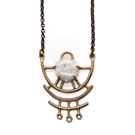 Laurel Hill Jewelry Dreamweaver Necklace // Moonstone