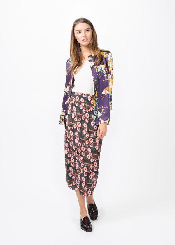 Laura Urbinati Silk Pajama Shirt