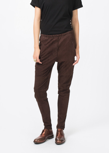 Kristensen du Nord Tapered Leather Trouser