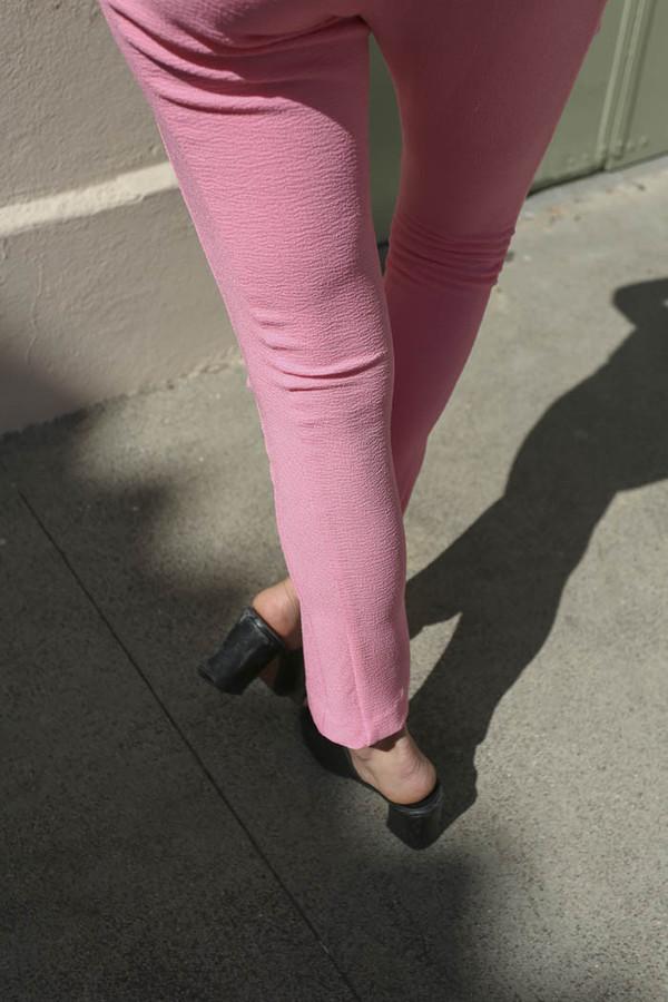 A Détacher Patches Legging in Pink