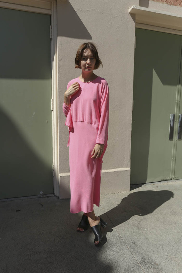 A Détacher Birdie R Dress in Pink