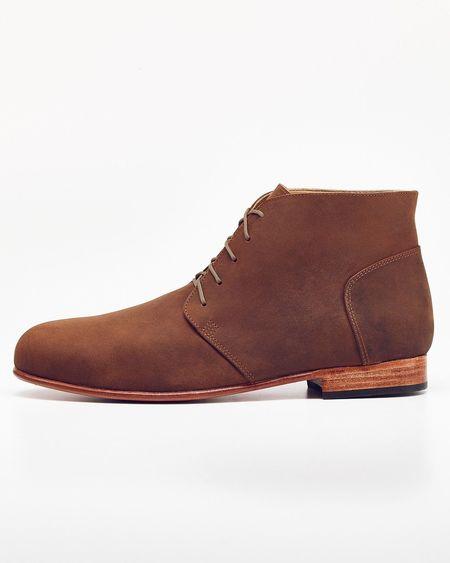 Men's Nisolo Emilio LE Chukka Boot Oak 5 for 5