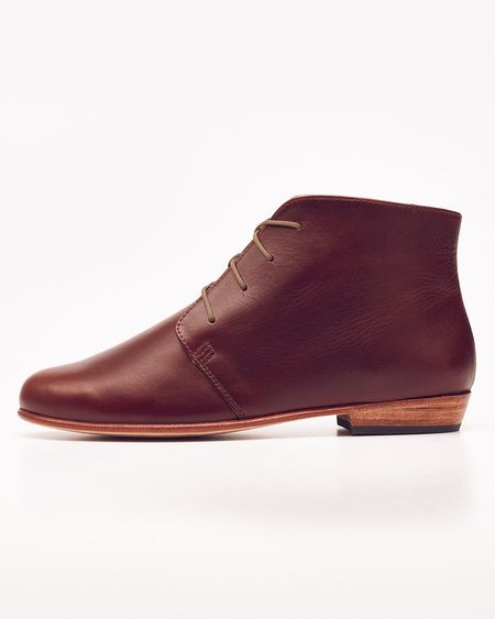 Nisolo Harper Chukka Boot Brandy 5 for 5