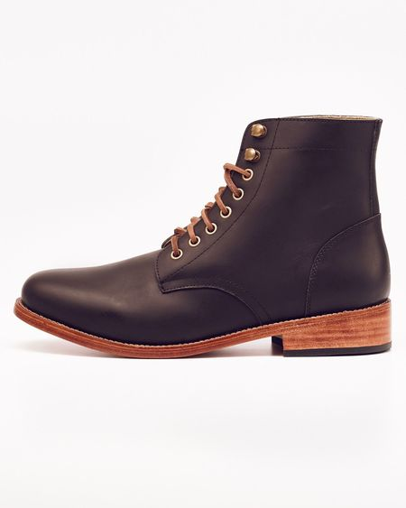 Nisolo Lockwood Trench Boot Noir 5 for 5
