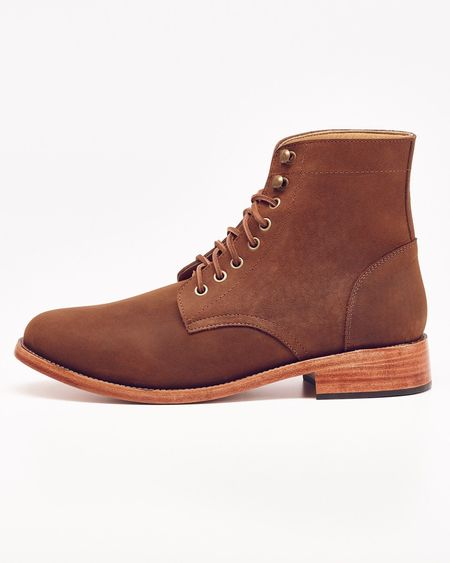 Nisolo Lockwood Trench Boot Oak 5 for 5