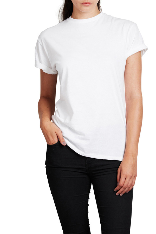 Mainline Basics This White Tee is the Best Kind of Basic
