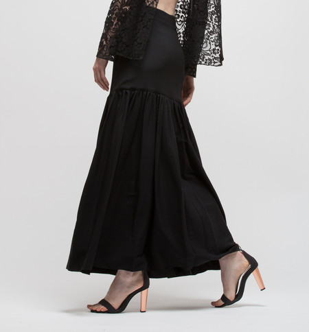 Ryan Roche Skirt Black