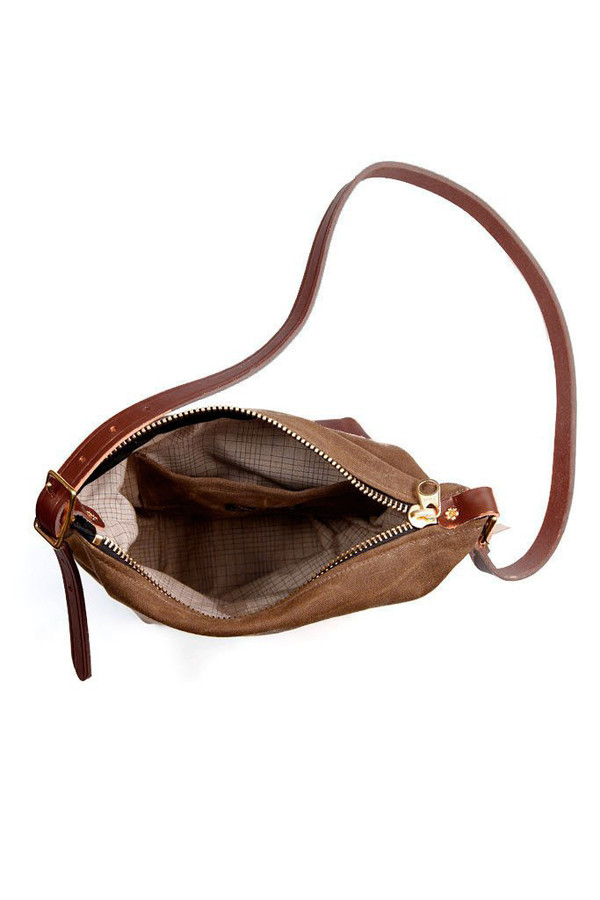Wood & Faulk Field Bag Cascade Range Tan