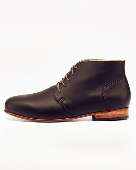Men's Nisolo Emilio LE Chukka Boot Noir 5 for 5