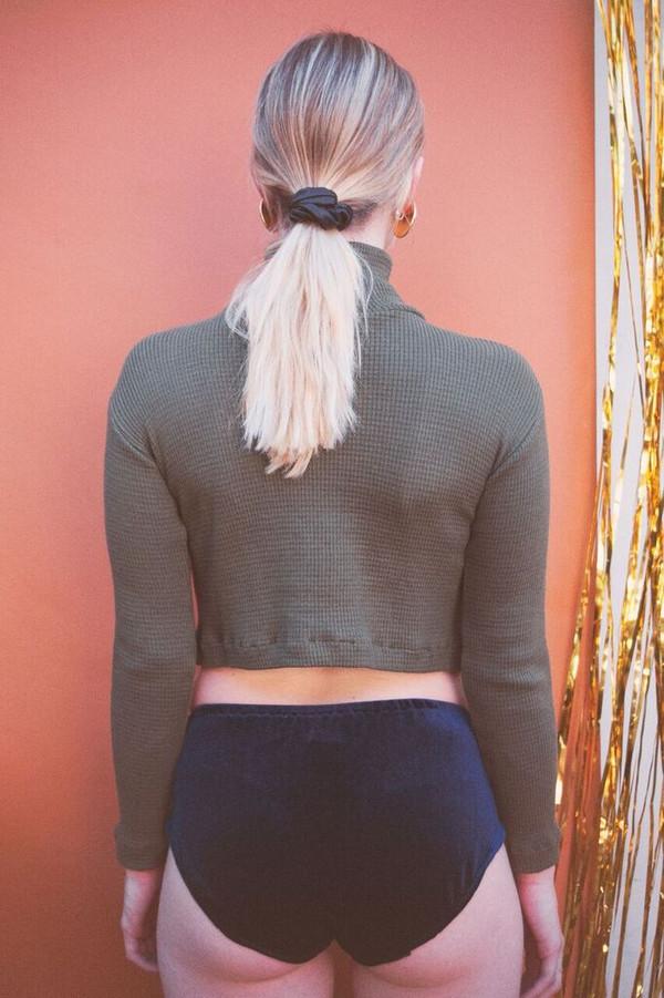 Lykke Wullf Green Knit Kelly Turtleneck