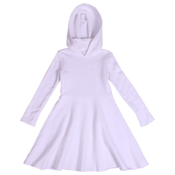 Kid's Mimobee Sweet Ninja Dress - White