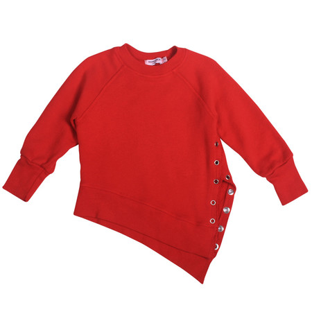 Kid's Mimobee Weekender Lace-Up Sweat - Racing Red