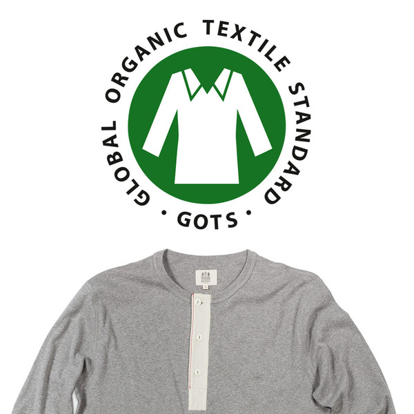 Hemen Biarritz Organic Cotton Henley L/S