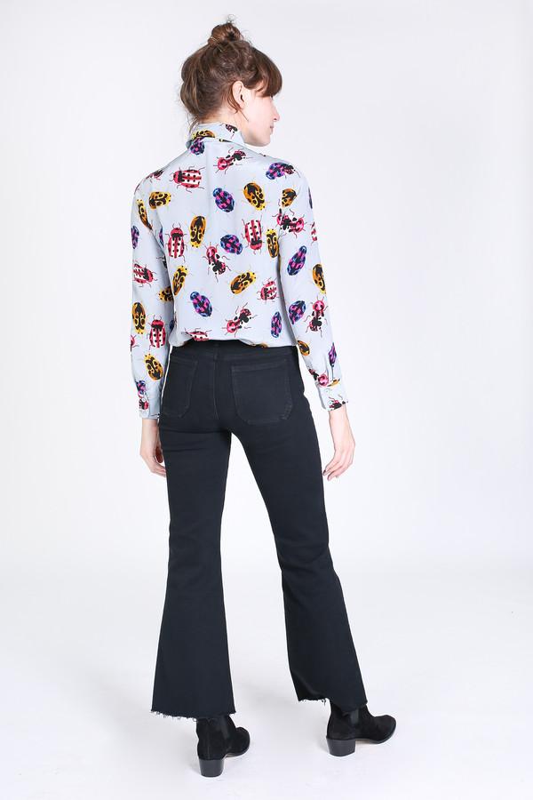 Tracy Reese Button up shirt in racecar bobon