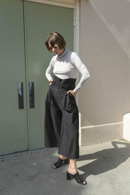 Delfina Balda Aras Pant in Black