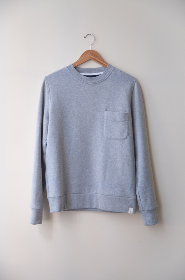 Men's Boy+Girl Crew Pocket Pullover