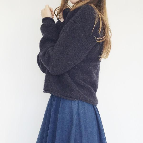 Johan Vintage Navy Woolrich Sweater