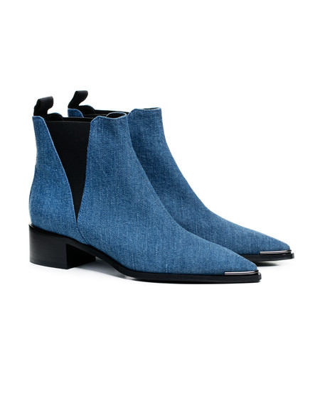 Acne Studios Womens Jensen Boot Denim