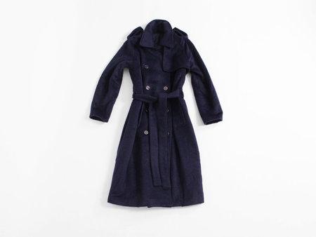 Rodebjer Egun Coat - Twilight Blue