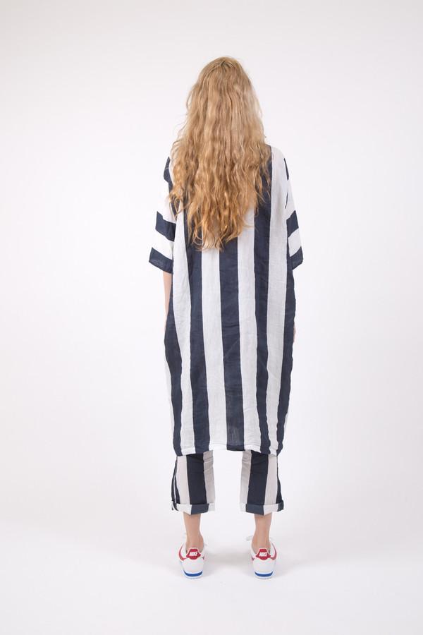 Humanoid Wankel Breed Linen Dress