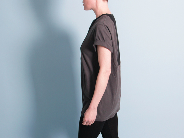 Correll Correll Ecke T-Shirt - Charcoal/Black