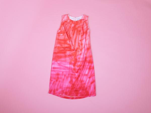 ffiXXed Soft Spray Dress - Orange/Pink Spray