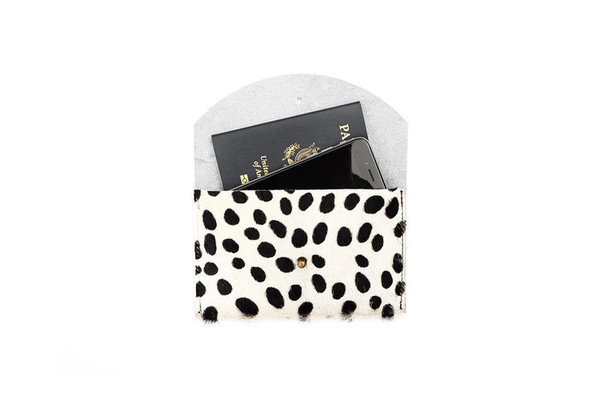 Primecut PASSPORT CLUTCH - TINY SPOTTED