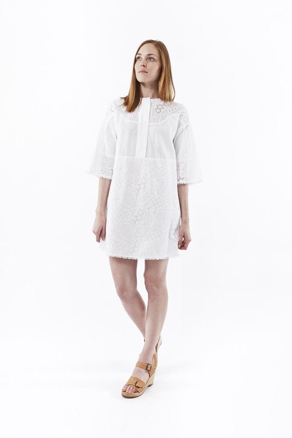 M.i.h. Jeans Amo Dress in White