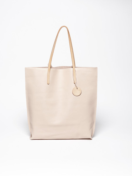 Jack Gomme Calm Leather Tote in Rose