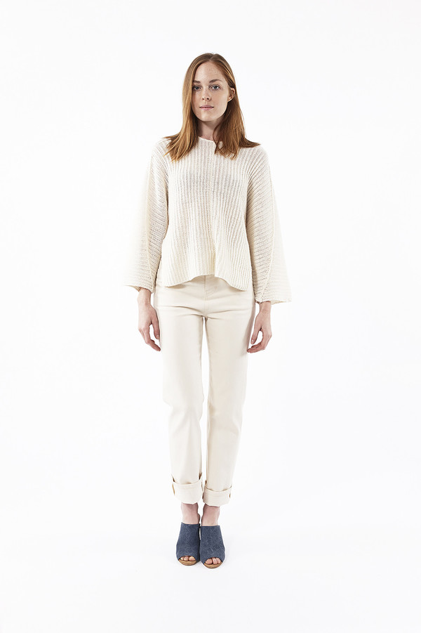 Line Charlie Sweater in Marshmallow