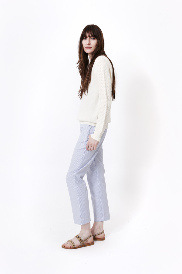 Jenni Kayne Striped Slim Pant
