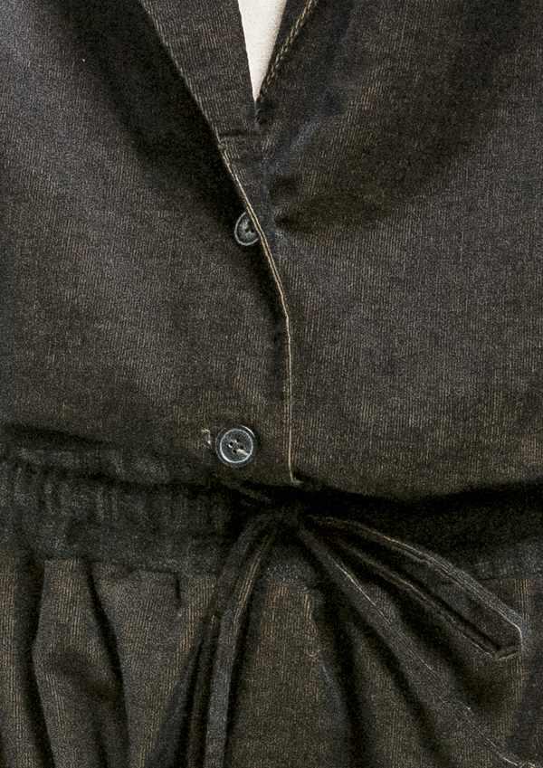Berenik Jumpsuit Reverse Cird - Black Mottled