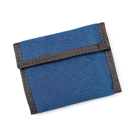 Men's The Hill-Side EZ Wallet / Selvedge Lightweight Indigo Sashiko