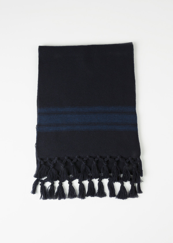 Nigel Cabourn Scottish Knit Scarf