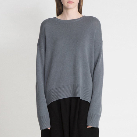 Organic by John Patrick potato sweater - slate