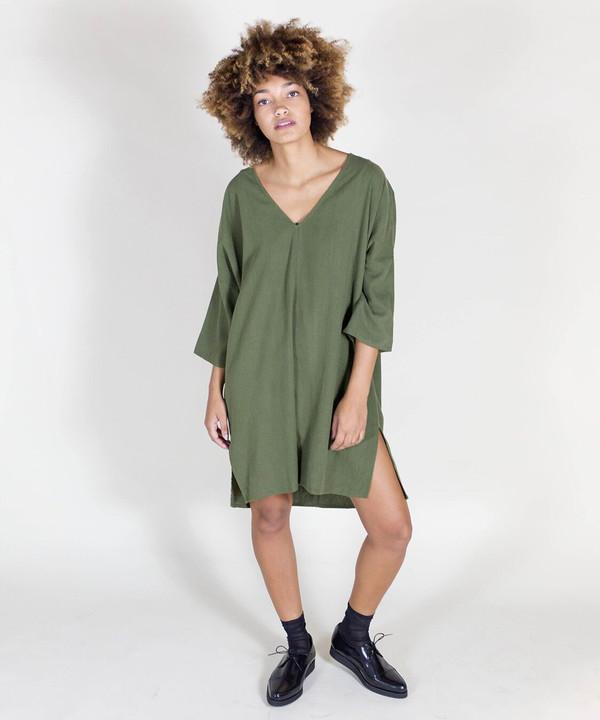 Ali Golden Olive Kimono Tunic