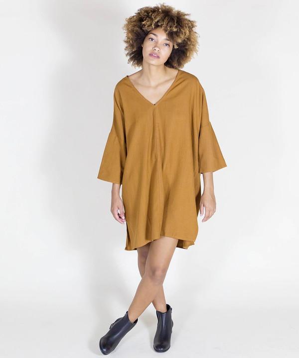 Ali Golden Rust Kimono Tunic