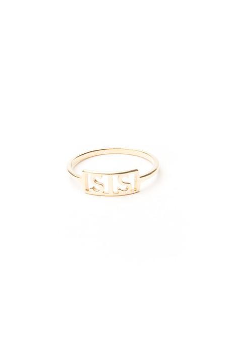 Winden Sis Ring, 14K Yellow Gold