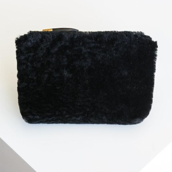 Kempton & Co Marlborough Cosmetic Pouch - Black