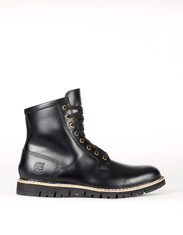 Men's Timberland Britton Hill Waterproof Plain Toe Boot Black