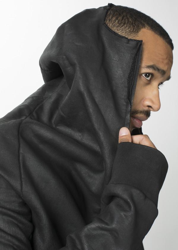 Men's Rundholz Wax Zip Hoodie