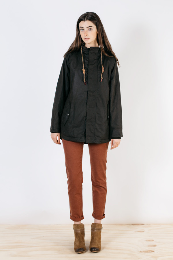 Bridge & Burn Sequoia Parka Black Olive